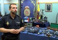 La Policía Nacional desarticula una de las mayores redes criminales dedicada al tráfico ilícito de armas en España