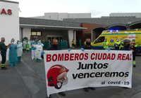 Continúan en Ciudad Real las muestras de solidaridad y agradecimiento hacia el personal sanitario