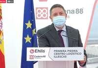 (DIRECTO) El presidente de Castilla-La Mancha pone la primera piedra de la empresa Ehlis en Illescas