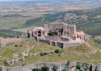El Ayuntamiento de Aldea del Rey reabre el Sacro-Convento Castillo de Calatrava la Nueva, cerrado tras el paso de la tormenta Filomena