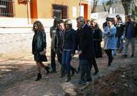 La alcaldesa de Toledo asegura que la renovación integral del Parque de la Integración pondrá en valor la labor de los colectivos que incluye