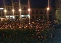 imagen de Más de 3.500 personas participaron en Alcázar de S. Juan en la multitudinaria manifestación contra la privatización del agua