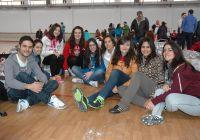 Un grupo de los alumnos de Magisterio que viajan al Sáhara.